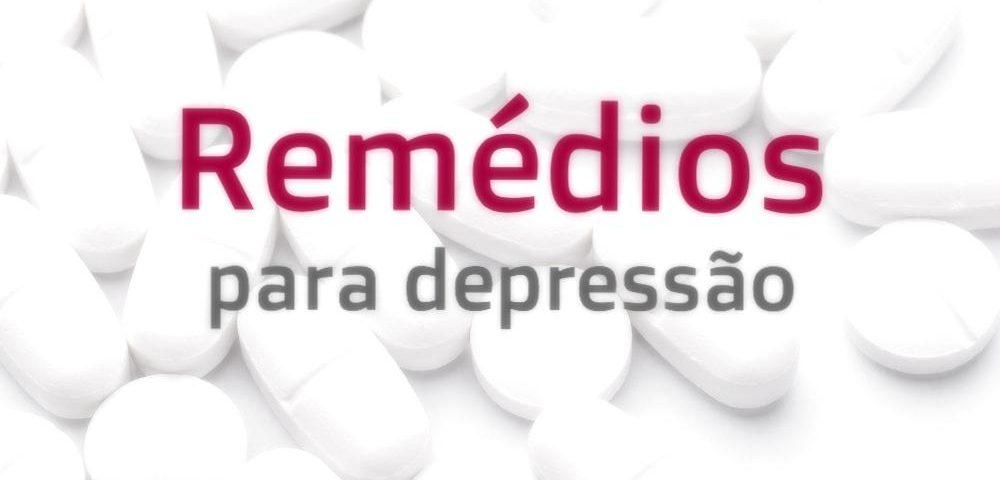 remédio para depressão