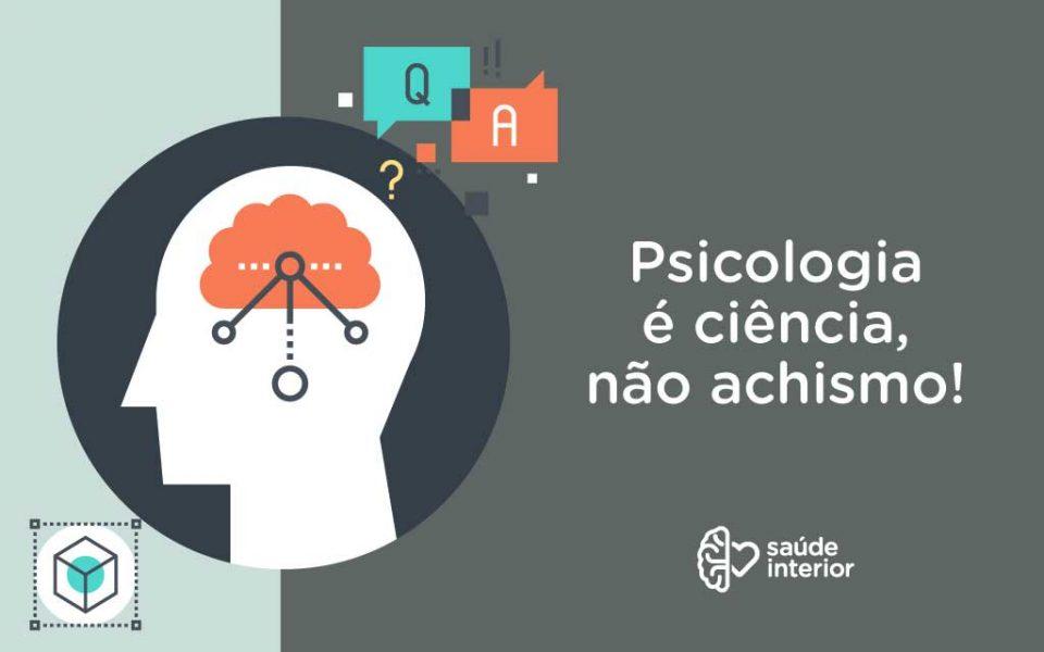 Psicologia é ciência